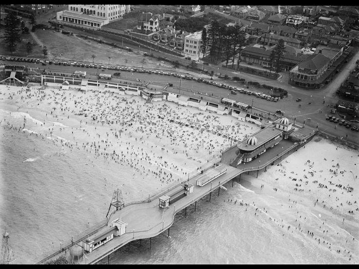 Coogee Beach Sydney Australia 1930