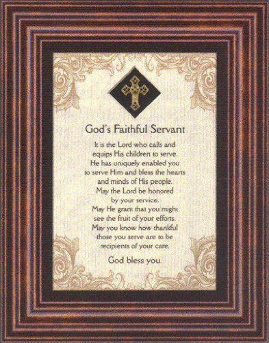 God's Faithful Servant Heartfelt Pastor's Appreciation ...
