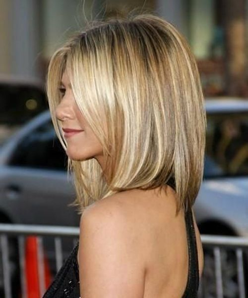 Jennifer Anniston Amazing Long Bob Haircuts