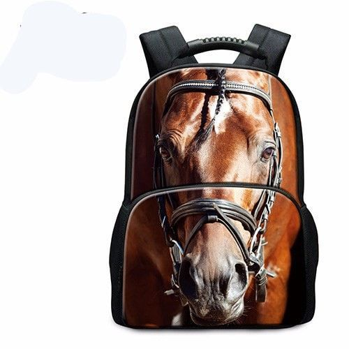 3D Animal Print Fashion Large-Capacity Durable Backpack 15 Designs
