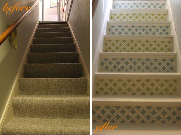 Happy Stairs! Basement ...