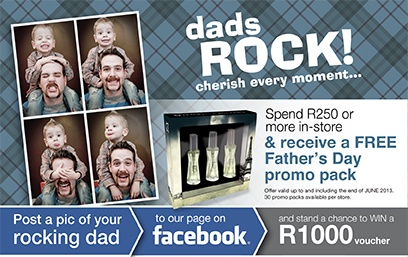 father's day promotion restaurant