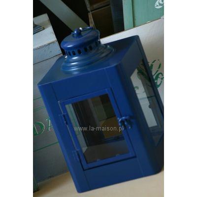 Lampion Lantern Granatowy