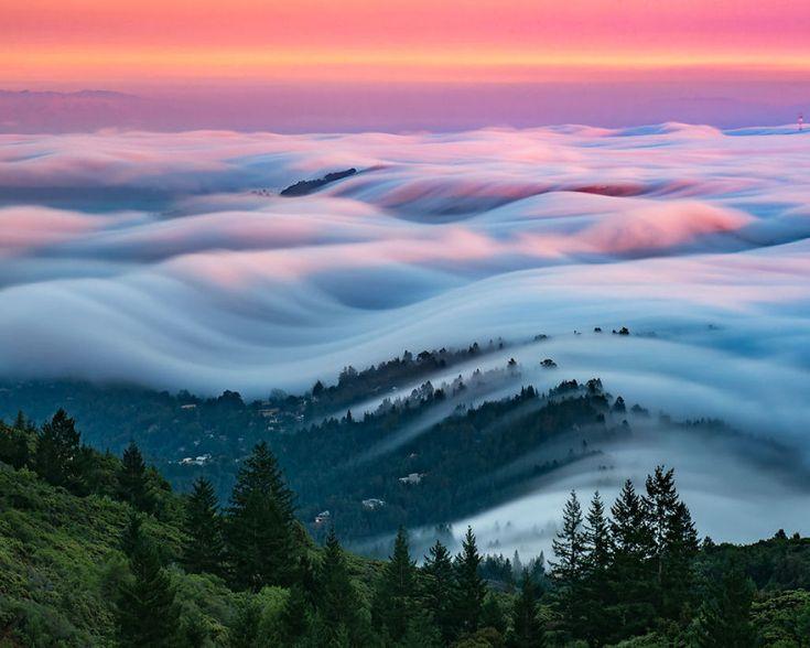 As oníricas ondas de nevoeiro registradas pelo fotógrafo Nick Steinberg 08