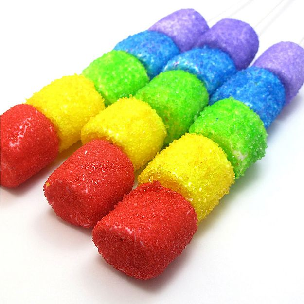 Glitter + Marshmallows=Love
