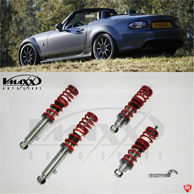 "topmiata: ""TopMiata & V-MAXX Coilovers Group Buy Discount  For the NA, NB and NC: 35% Off + Free Shipping, limited offer till the 21st of March.  Subscribe at  TopMiata.com/vmaxx/ (Offer valid for Europe) 