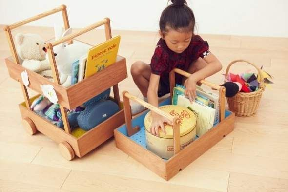 Learn to be organized with the Koloro-Wagon