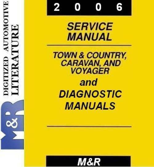 2006 Caravan Chrysler Service Manual & Diagnostic Manuals - Downloa...