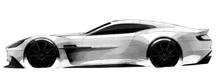 Matteo Gentile Design Works.: ASTON MARTIN Hyper Granturismo. Barcellona 2013.