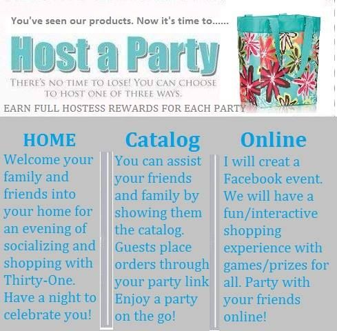 17 best images about thirty one hostess on pinterest for How to be a good party host