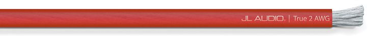 Cable transparente rojo calibre 2 (15.2 m)