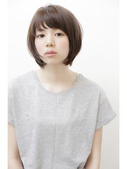 【GARDEN】宮崎えりな 2016人気髪型☆暗髪黒髪◎ショートボブ