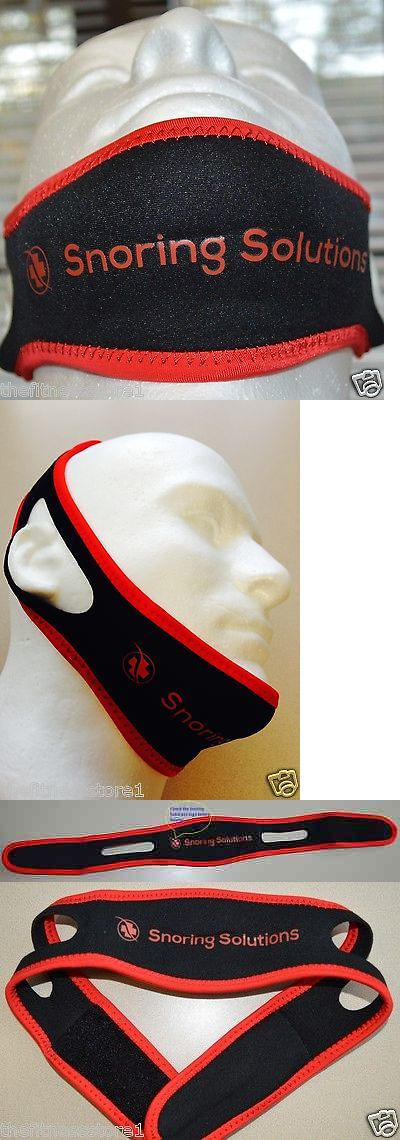 Chin Straps: 2 X Genuine Snoring Solutions Chin Strap Anti Snore Jaw Belt - Size Medium Red -> BUY IT NOW ONLY: $37.98 on eBay!
