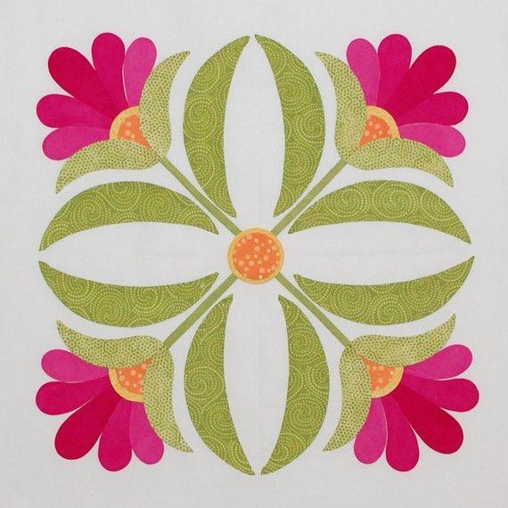 Florabunda Block 4 by erinrussek on Etsy, $2.00