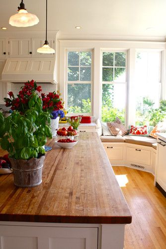 Possible Butcher Block Countertops on the Island? Avail at IKEA & Lumber Liquidators - or DIY?