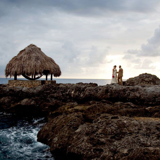 Brides.com: The Most Heart-Stopping Destination Wedding Locations . Negril, Jamaica  A mecca of affordability in the form of all-inclusive resorts, hosting a destination wedding on this Caribbean island is a piece of cake.  See the best hotels in Jamaica.