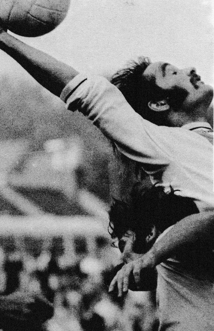 30th September 1972. Crystal Palace big money signing Iain Phillip battling with Norwich City centre forward Jim Bone, at Selhurst Park.