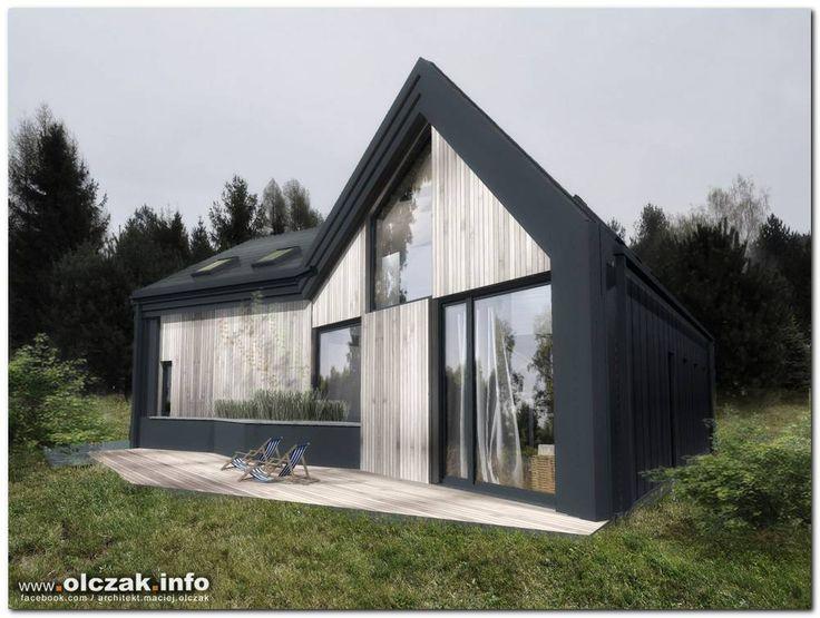 Architekt Maciej Olczak - dom pod lasem