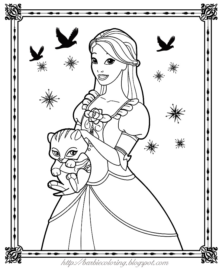 322 best Black \ White Paper Dolls Coloring Pages International - best of boy barbie coloring pages