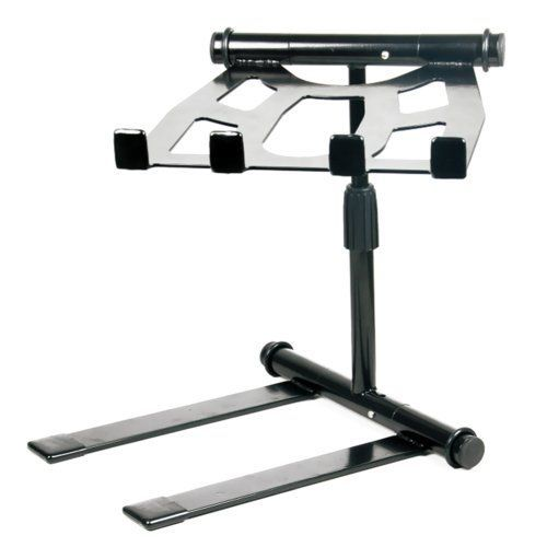 Pyle PLPTS55 - Portable, Folding Tabletop DJ Gear Stand f