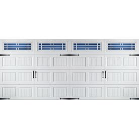 Reliabilt 16 ft x 7 ft 850 series insulated white double for 16 ft x 7 ft garage door