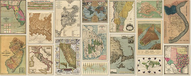 Blue Monocle is a fine art print shop that makes high-quality reproductions of antique maps and prints.