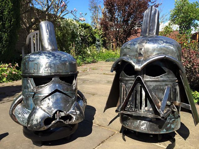 geeky wood burners fire pits by burned by design fire. Black Bedroom Furniture Sets. Home Design Ideas