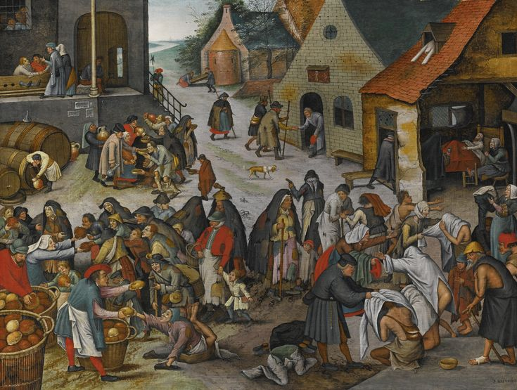 Pieter Brueghel the Younger 'The Seven Acts of Mercy' | Lot36, 31 Jan-01 Feb 2013, New York | Sotheby's. SOLD. US$2,210,500
