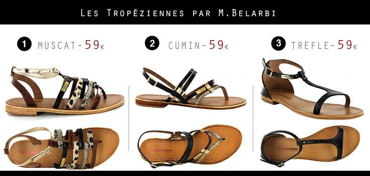 Sandales LES TROPEZIENNES Par M. Belarbi  http://www.carrepointu.com