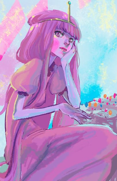 Princess Bubblegum (Adventure Time)- print 11x17