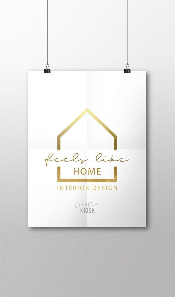 Real Estate Business Logo Interior Design Logo Ot Creativekiosk