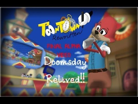 Toontown Rewritten (FINAL ALPHA VIDEO): Doomsday Relived!!