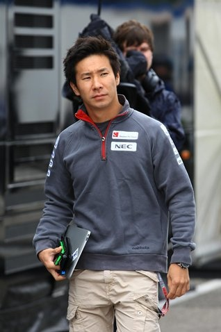Kamui Kobayashi (JPN) Sauber. Formula One World Championship, Rd10, German Grand Prix, Preparations, Hockenheim, Germany, Thursday, 19 July 2012  © Sutton Images