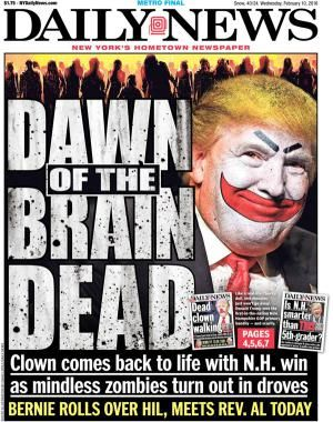 Funniest Donald Trump Memes: Dawn of the Brain Dead