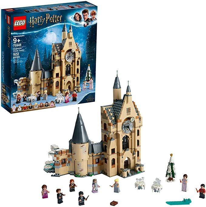 Amazon Com Lego Harry Potter Hogwarts Clock Tower 75948 Build And Play Tower Set With Harry Potter Mini In 2020 Lego Hogwarts Harry Potter Lego Sets Lego Harry Potter