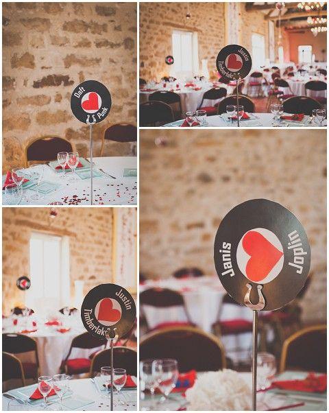 Music themed wedding © MADfotos Good idea, but needs some tweaking