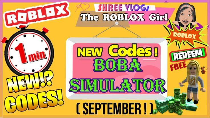 Roblox boba simulator codes in 60 seconds new