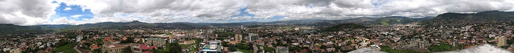 Panoramic View of Tegucigalpa, Honduras