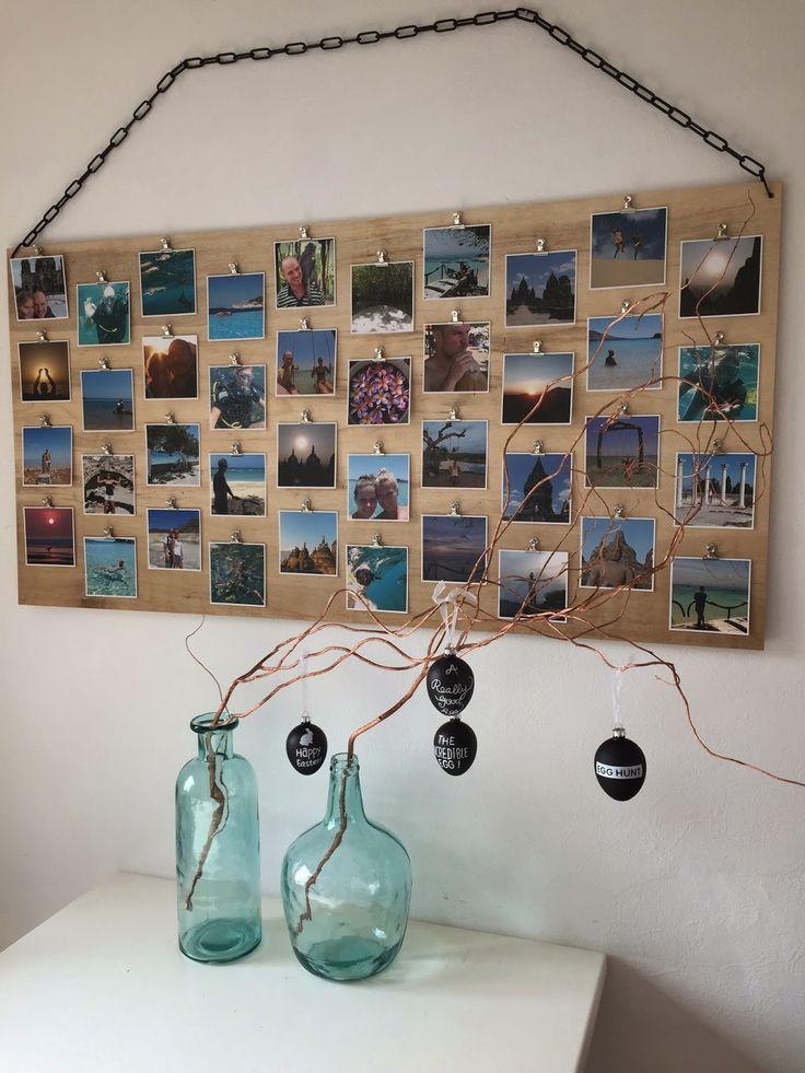 DIY fotobord met clips