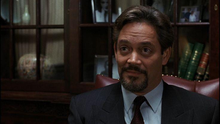 """Uznany za niewinnego"" (1990) = ""Presumed Innocent"" (1990), Raul Julia"