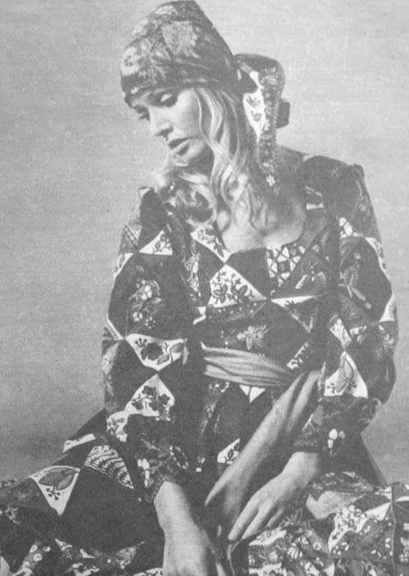 1970 Çingene modası.