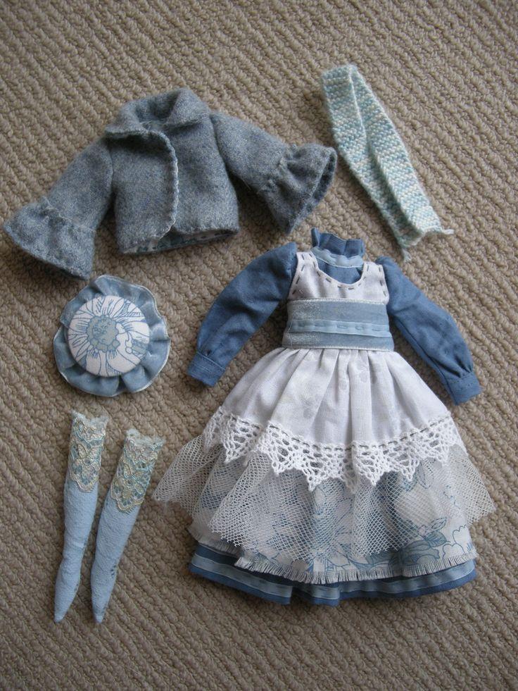 what a wonderful Blythe handmade set