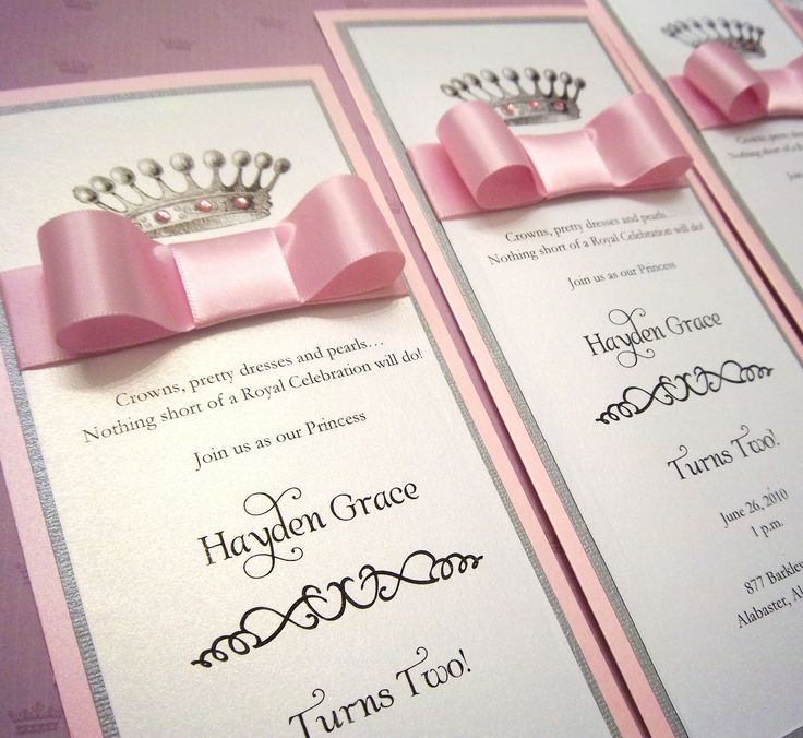 25 Best Ideas About Princess Invitations On Pinterest