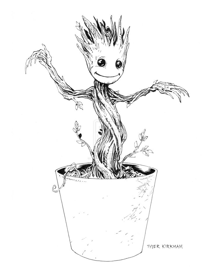 Baby Groot By Tylerkirkham D7xp2n2 Jpg 1600 215 2076