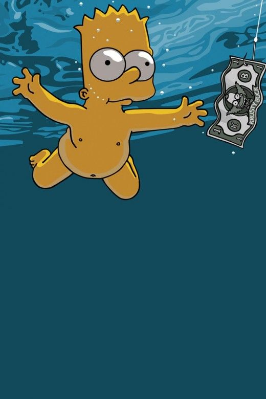 Bart Simpson iPhone 4(s) Wallpaper >>> Click for original size <<<