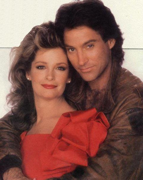 John and Marlena   Drake hogestyn Deidre Hall. That awwks moment when I used to have a crush on him.