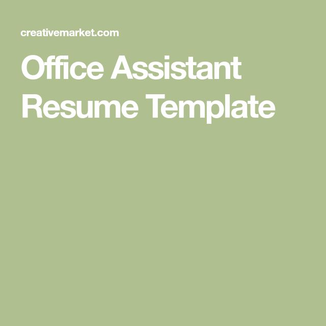 Mer enn 25 bra ideer om Office assistant resume på Pinterest - office assistant resumes