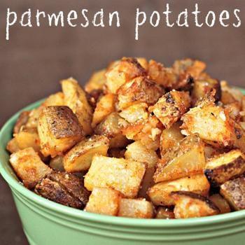 GF Roasted Parmesan Potatoes Recipe