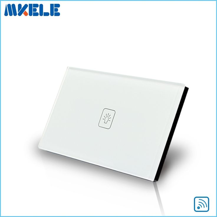 21.60$  Watch here - http://alit5v.shopchina.info/go.php?t=32722997160 - Remote Touch Switch US Standard 1 Gang 1way RF Remote Control Light Switch UK Standard White Crystal Glass Panel 21.60$ #aliexpress