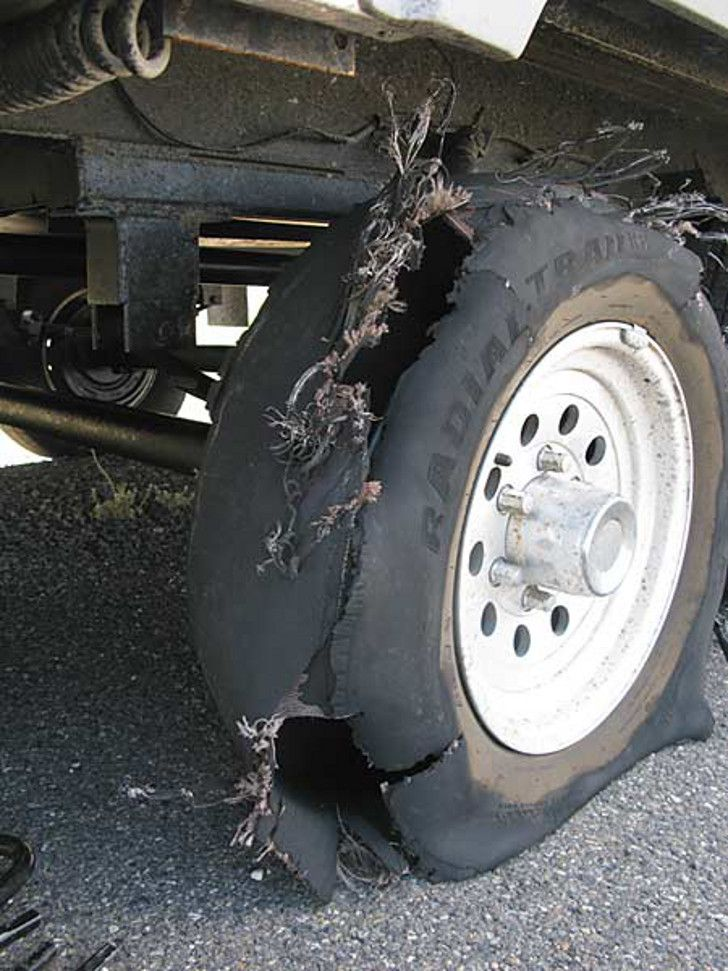 If you've never had an RV tire blowout, now is the time to know what to do if it happens to you while you're driving. This one safety tip will surprise you.